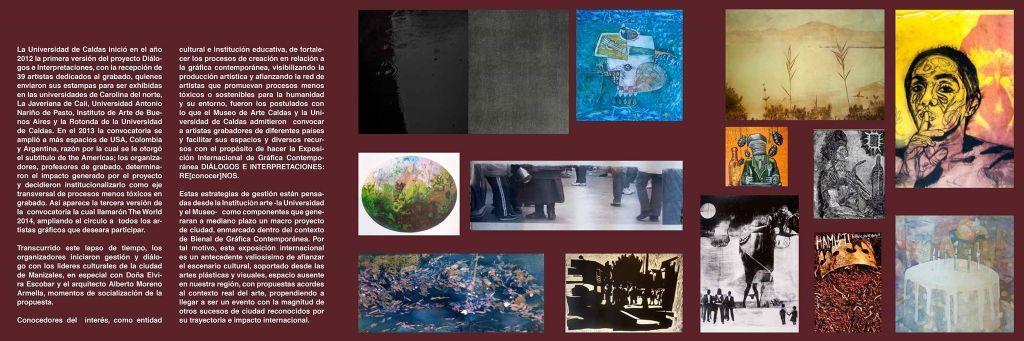 RE[conocer]NOS «EXPOSICIÓN INTERNACIONAL DEL GRÁFICA CONTEMPORÁNEA - DIÁLOGOS E INTERPRETACIONES» en Museo de Arte de Caldas, Colombia