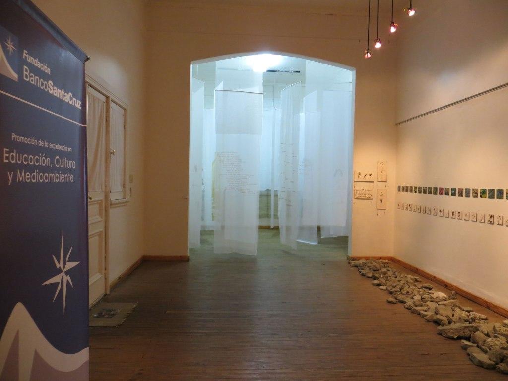 LUCIA TORRES - Instalación «MIGRANTE» en el Museo de Arte Eduardo Minnicelli