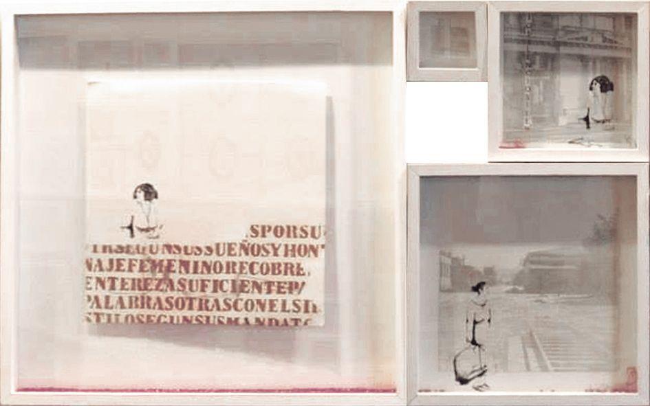 LUCIA TORRES en EL+LA «AE ARTE ESPACIO Almacén de Arte» 6° Edición - Espacio Darwin, Hipódromo de San Isidro