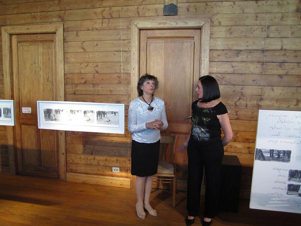 LUCIA TORRES con «LATIDO» en FUNDACRUZ, Casa de la Cultura de Río Gallegos, Santa Cruz