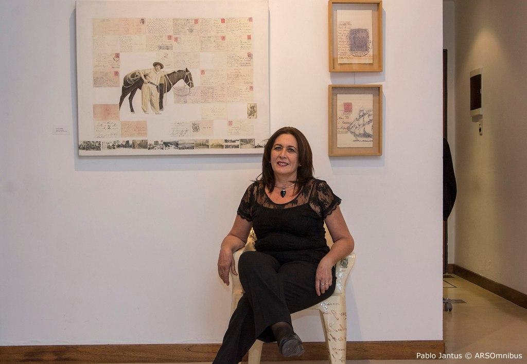 LUCIA TORRES con «RECORRIDO» en la «GALERÍA ESPACIO COLEGIALES» en CABA