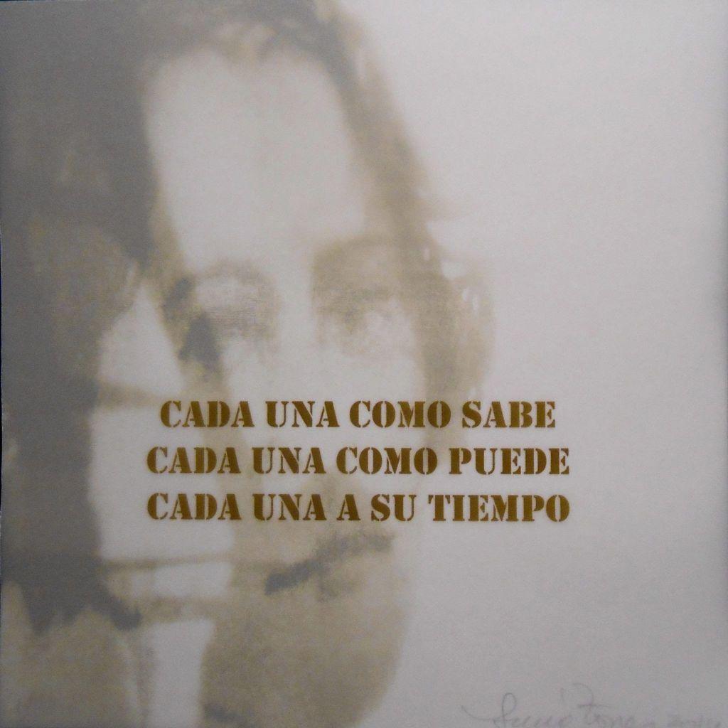 LUCIA TORRES «ELLA es RESILIENCIA» Litografía sobre Poliester - 20x20cm – Año 2014, en EL+LA «ArteBA» Edición 23 - 2014