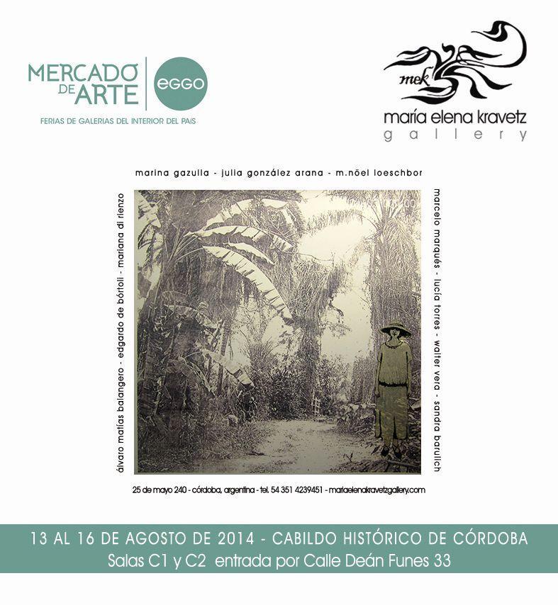 LUCIA TORRES en el «Mercado de Arte Córdoba / EGGO» 2014