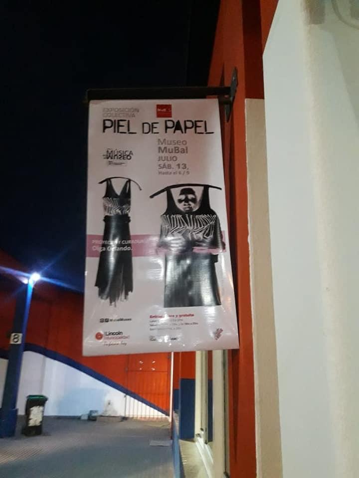 «PIEL DE PAPEL» en el Museo MuBal