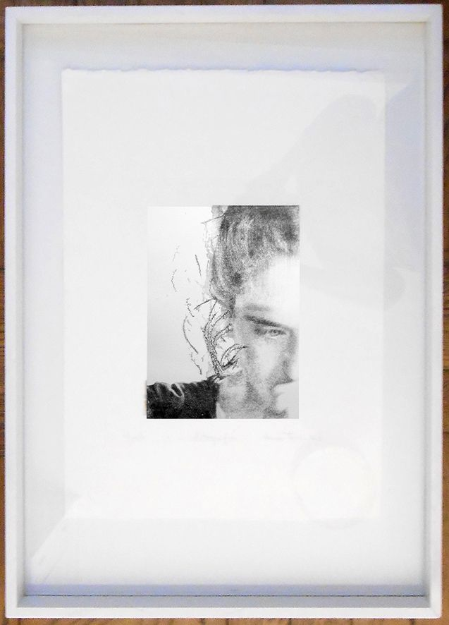 LUCIA TORRES «MALÚ» de la Serie Mujer, Litografía de 70x50cm - Año 2012 «PREMIO ESTÍMULO de FUNDACRUZ» en Río Gallegos, Santa Cruz