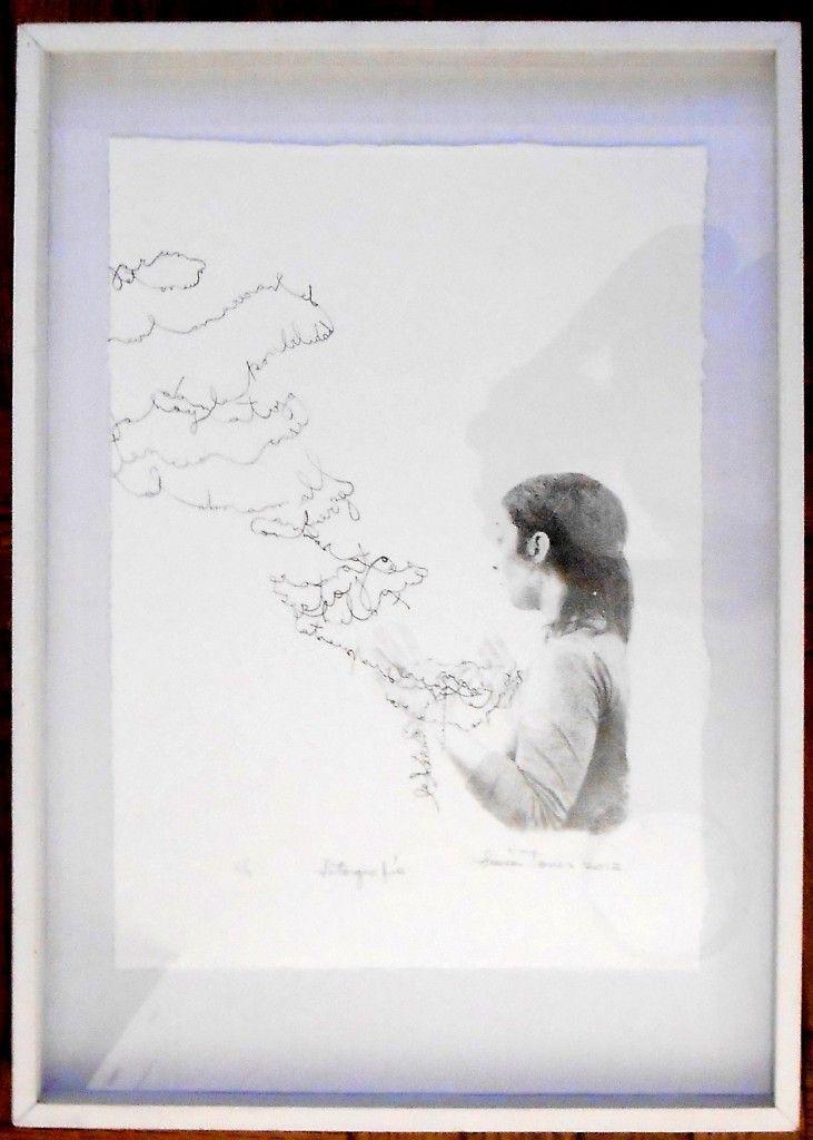 LUCIA TORRES «MUJER» de la Serie Mujer, Litografía de 70x50cm - Año 2012 «PREMIO ESTÍMULO de FUNDACRUZ» en Río Gallegos, Santa Cruz