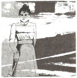 LUCIA TORRES «TERRITORIO IV» Transfer 19x56cm - Año 2007 en la «I Bienal Internacional de MINIPRINT» LAGUNA PAIVA 2014