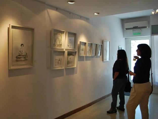 LUCIA TORRES en «MIRADA GRÁFICA» en Galería Espacio Colegiales, CABA