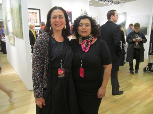 «AAF Affordable Art Fair - Spring» Centro de Edición, The Metropolitan Pavilion, New York City, 2013
