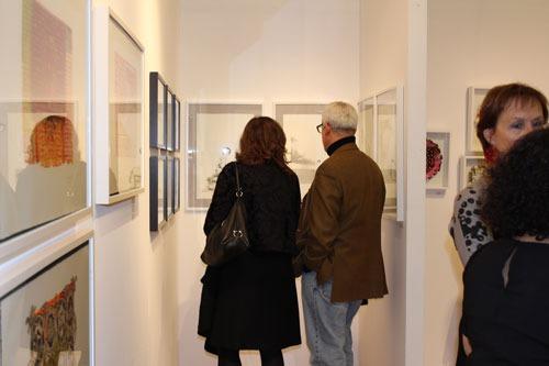 LUCIA TORRES en «AAF Affordable Art Fair - Spring» Centro de Edición, The Metropolitan Pavilion, New York City, 2013