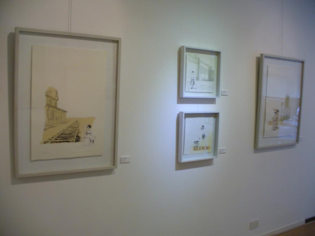 LUCIA TORRES en «GRÁFICA HOY» de GRUPO5 en «VALLMITJANA Espacio de Arte» Buenos Aires