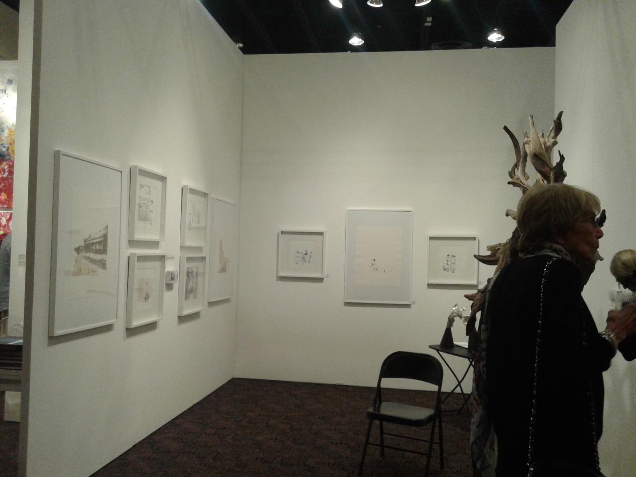 LUCIA TORRES en «FINE ART FAIR» Palm Springs 2015