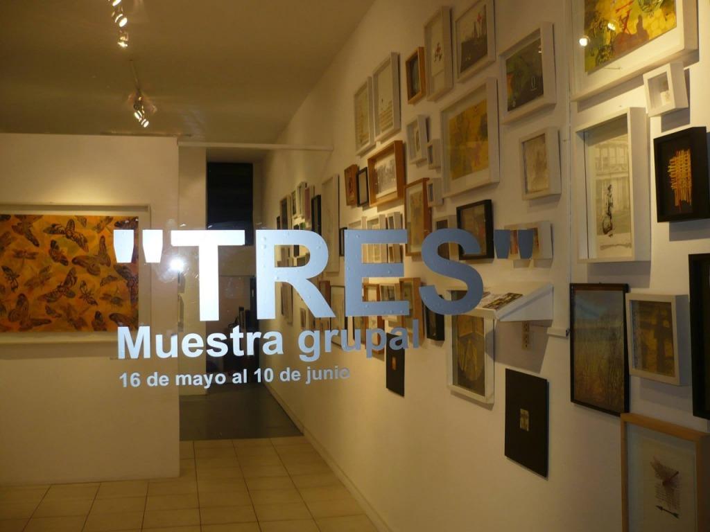 «TRES» Ana Erman - Lucía Torres - Silvana Blasbalg, en «Espacio Para El Arte» Buenos Aires