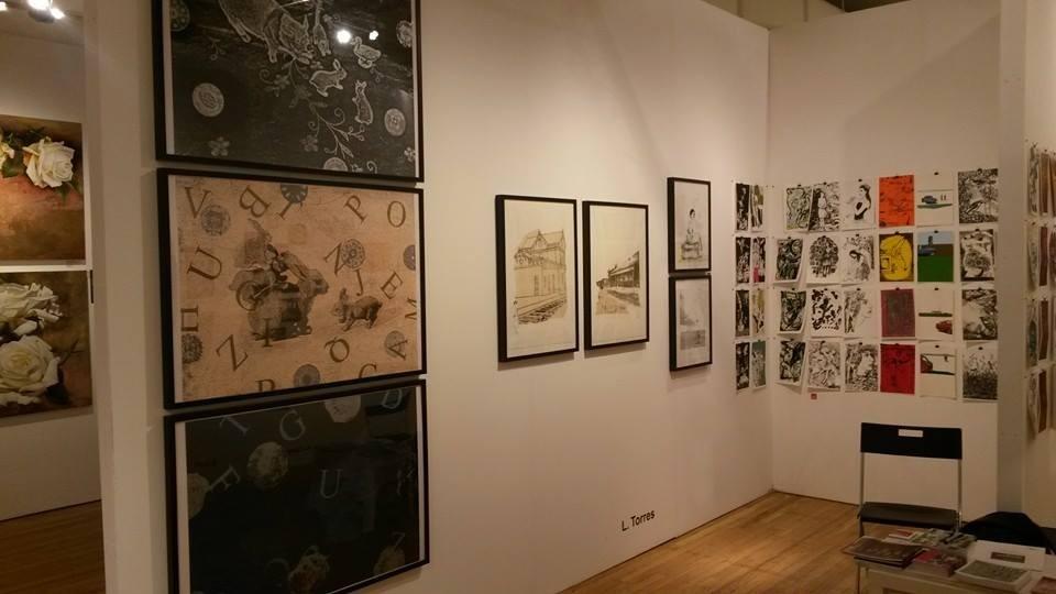 LUCIA TORRES en «Affordable Art Fair New York 2014» CDE Centro de Edición - Proyecto 27 Argentine Print