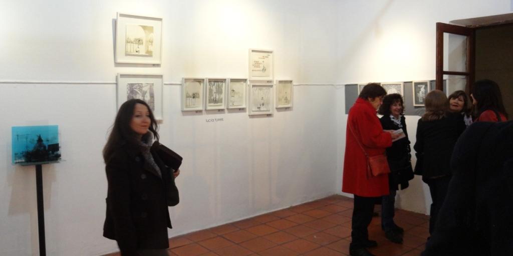 LUCIA TORRES en «Mercado de Arte Córdoba / EGGO» 2014